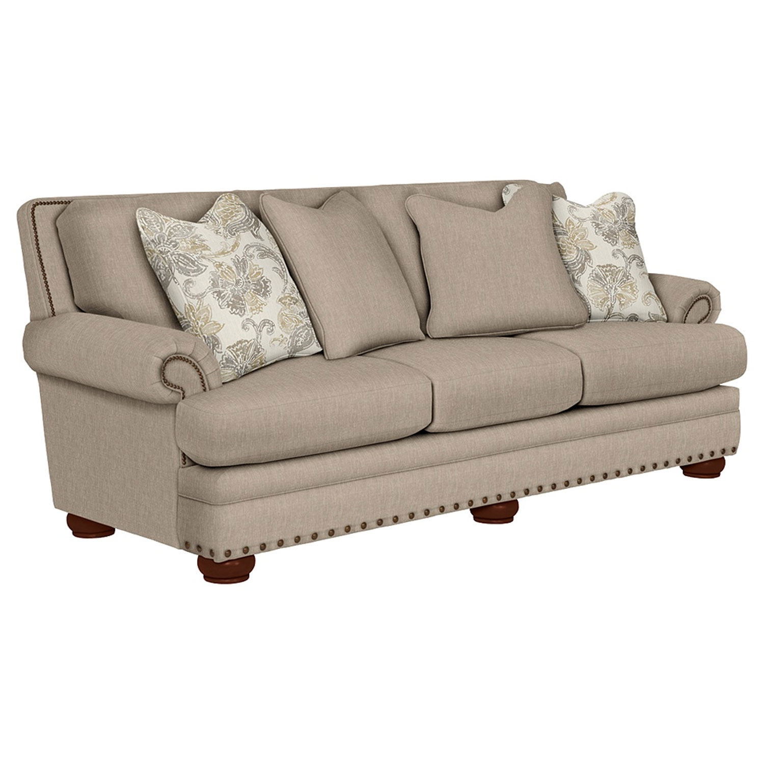 Lazboy 610 657 Brennan Premier Stationary Sofa | Hope Home Throughout Brennan Sofa Chairs (Image 18 of 20)