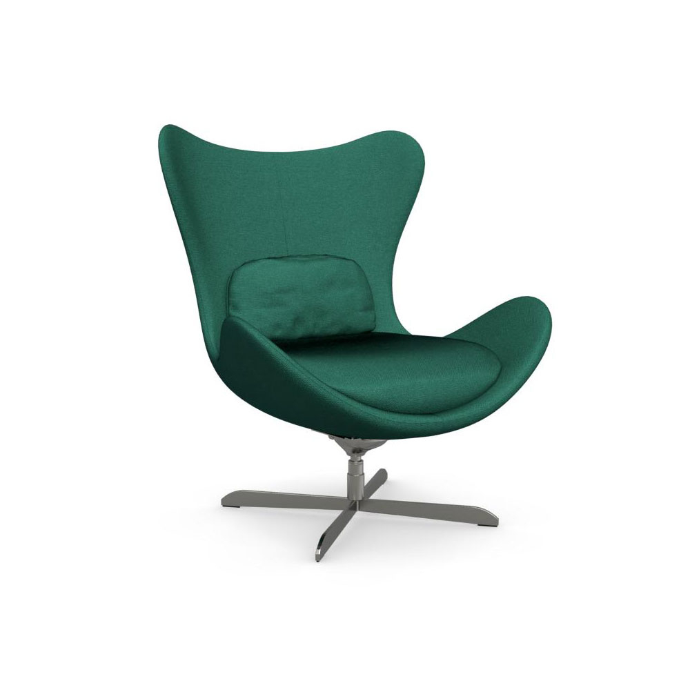 Lazy Cs/3373 C 1310 Swinging Swivel Chaircalligaris, Italy With Regard To Chill Swivel Chairs With Metal Base (Photo 6 of 20)