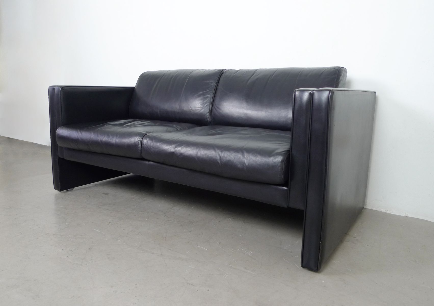 Leather Sofajürgen Lange For Walter Knoll, 1980S For Sale At Pamono Intended For Walter Leather Sofa Chairs (Image 5 of 20)