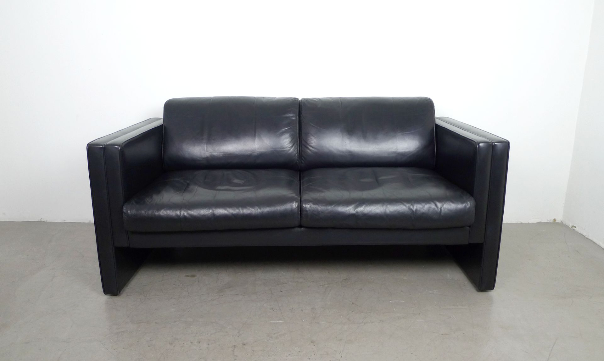 Leather Sofajürgen Lange For Walter Knoll, 1980S For Sale At Pamono With Walter Leather Sofa Chairs (Image 6 of 20)