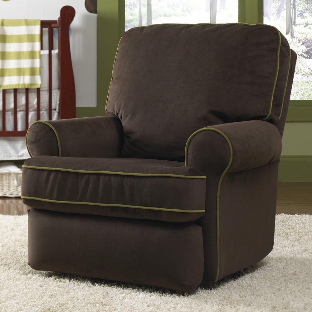 Leather Swivel Glider Chair — Paristriptips Design : Nursery Swivel With Regard To Abbey Swivel Glider Recliners (View 10 of 20)