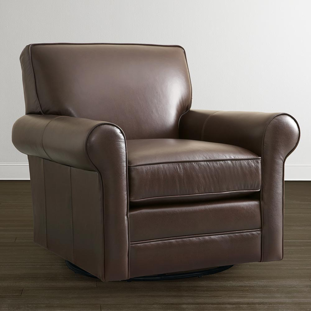 Leather Swivel Glider Chair — Paristriptips Design : Nursery Swivel With Regard To Abbey Swivel Glider Recliners (View 6 of 20)