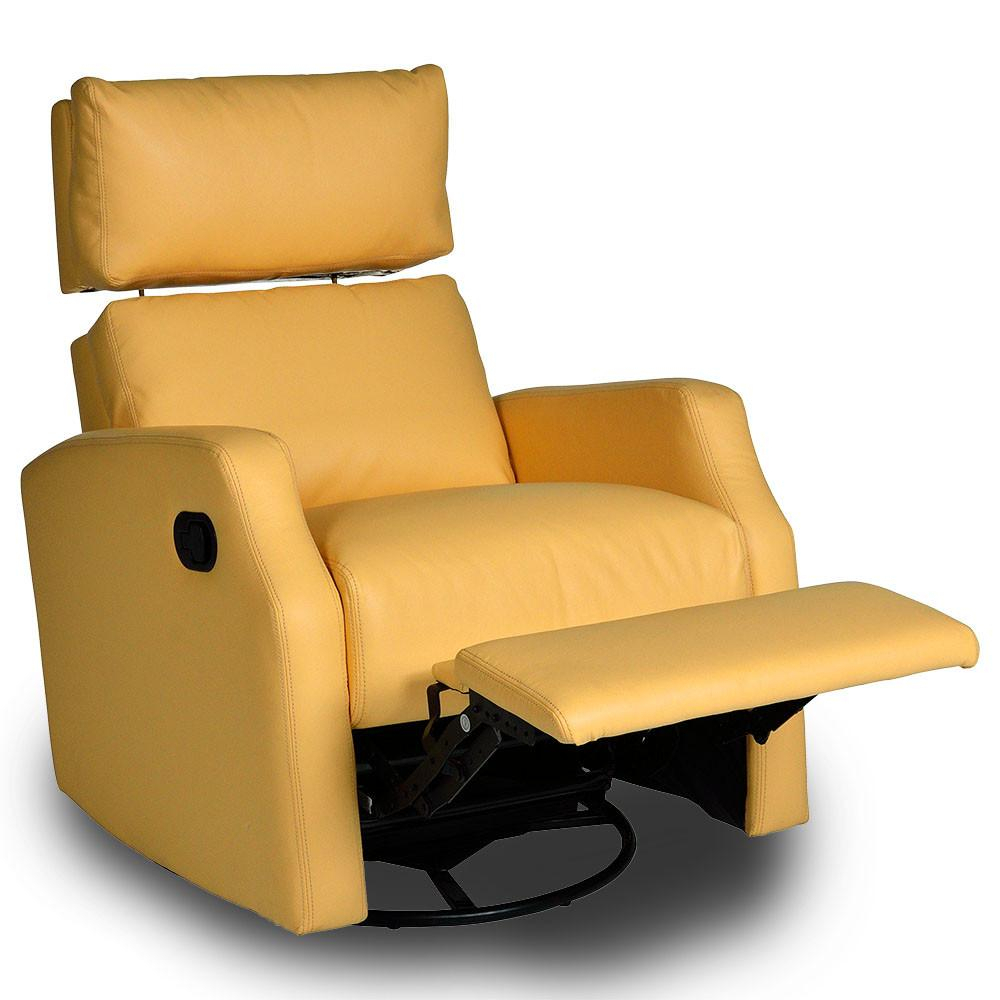 Leather Swivel Rocker Recliner And Its Benefits | Pertaining To Decker Ii Fabric Swivel Rocker Recliners (Image 11 of 20)