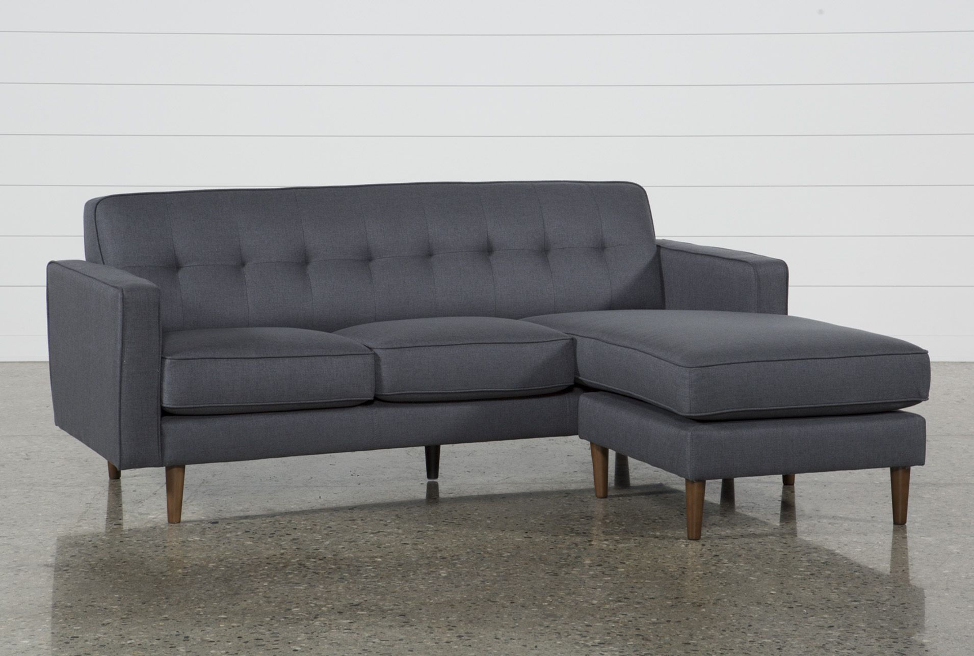 London Dark Grey Reversible Sofa Chaise | Dark Grey And Products In London Optical Sofa Chairs (Image 10 of 20)