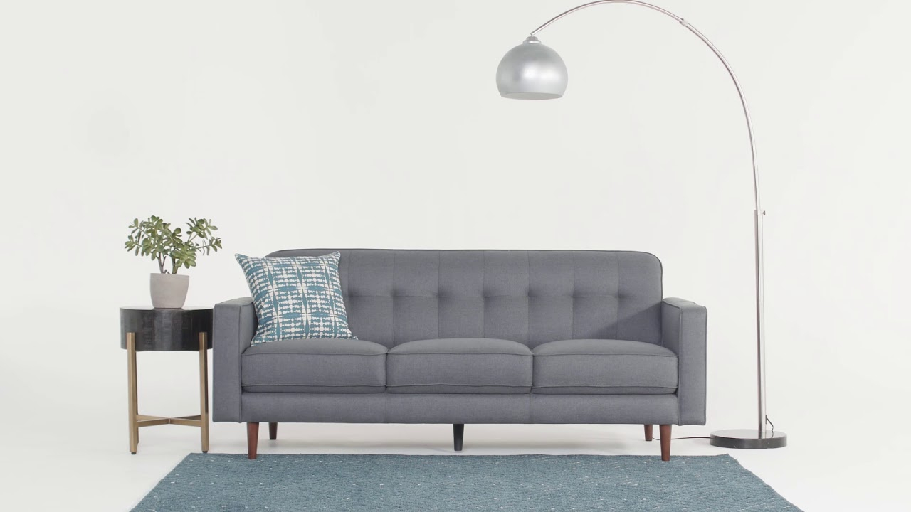 Featured Image of London Dark Grey Sofa Chairs