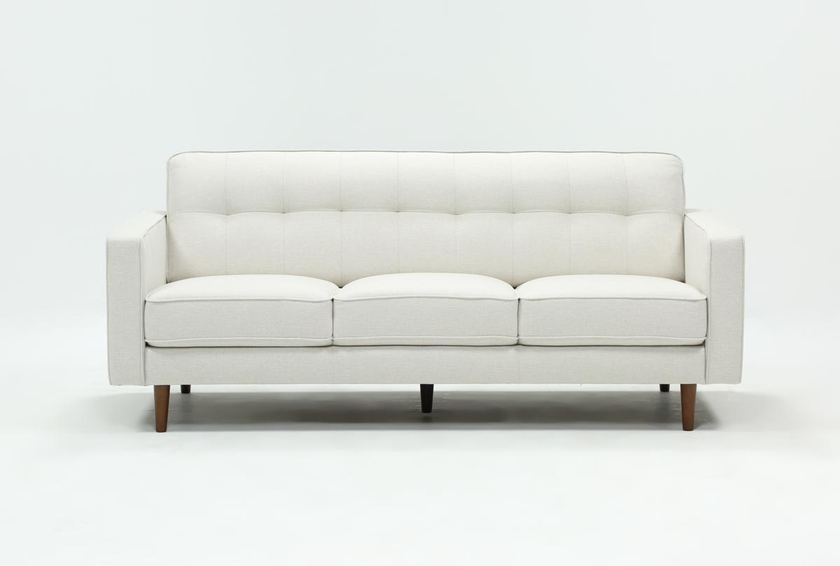 London Optical Sofa | Living Spaces Pertaining To London Dark Grey Sofa Chairs (Photo 17 of 20)
