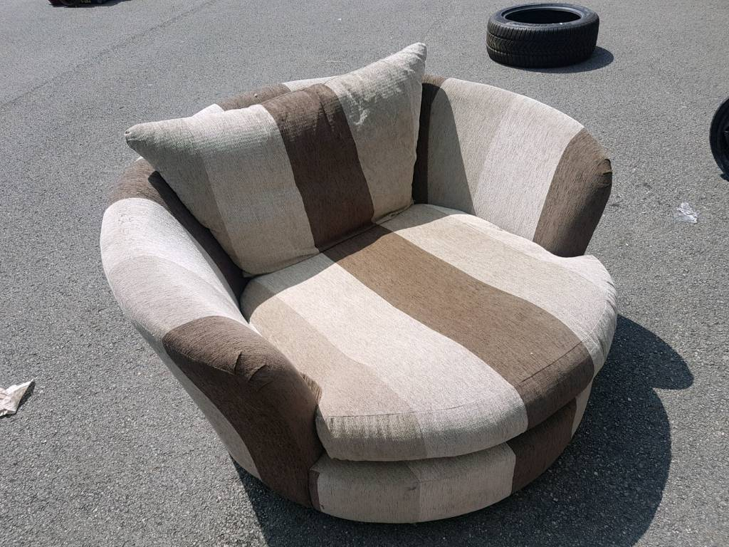 Love Chair Spinning Chair | In Mansfield, Nottinghamshire | Gumtree Regarding Mansfield Beige Linen Sofa Chairs (Photo 11 of 20)