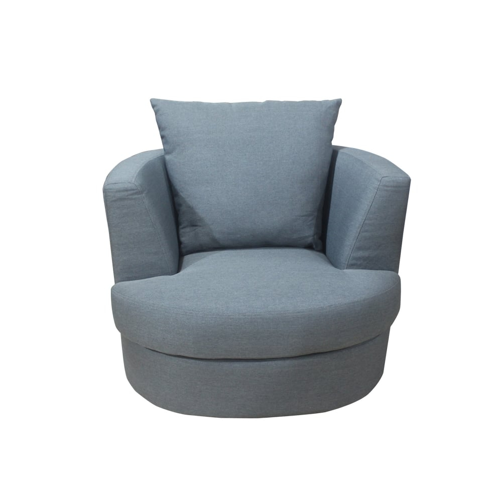 Lpd Furniture Bliss Grey Swivel Chair | Leader Stores For Grey Swivel Chairs (Image 10 of 20)