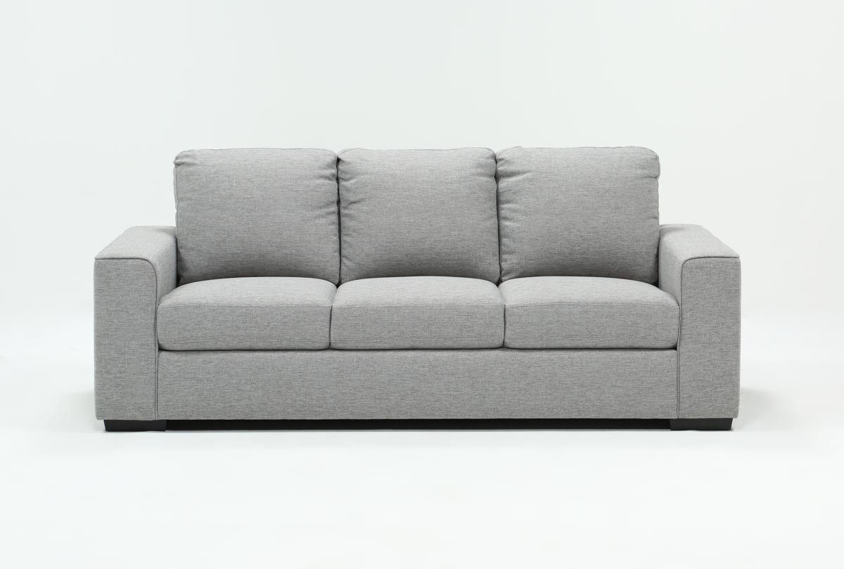 Lucy Grey Sofa | Living Spaces With Lucy Grey Sofa Chairs (Image 8 of 20)