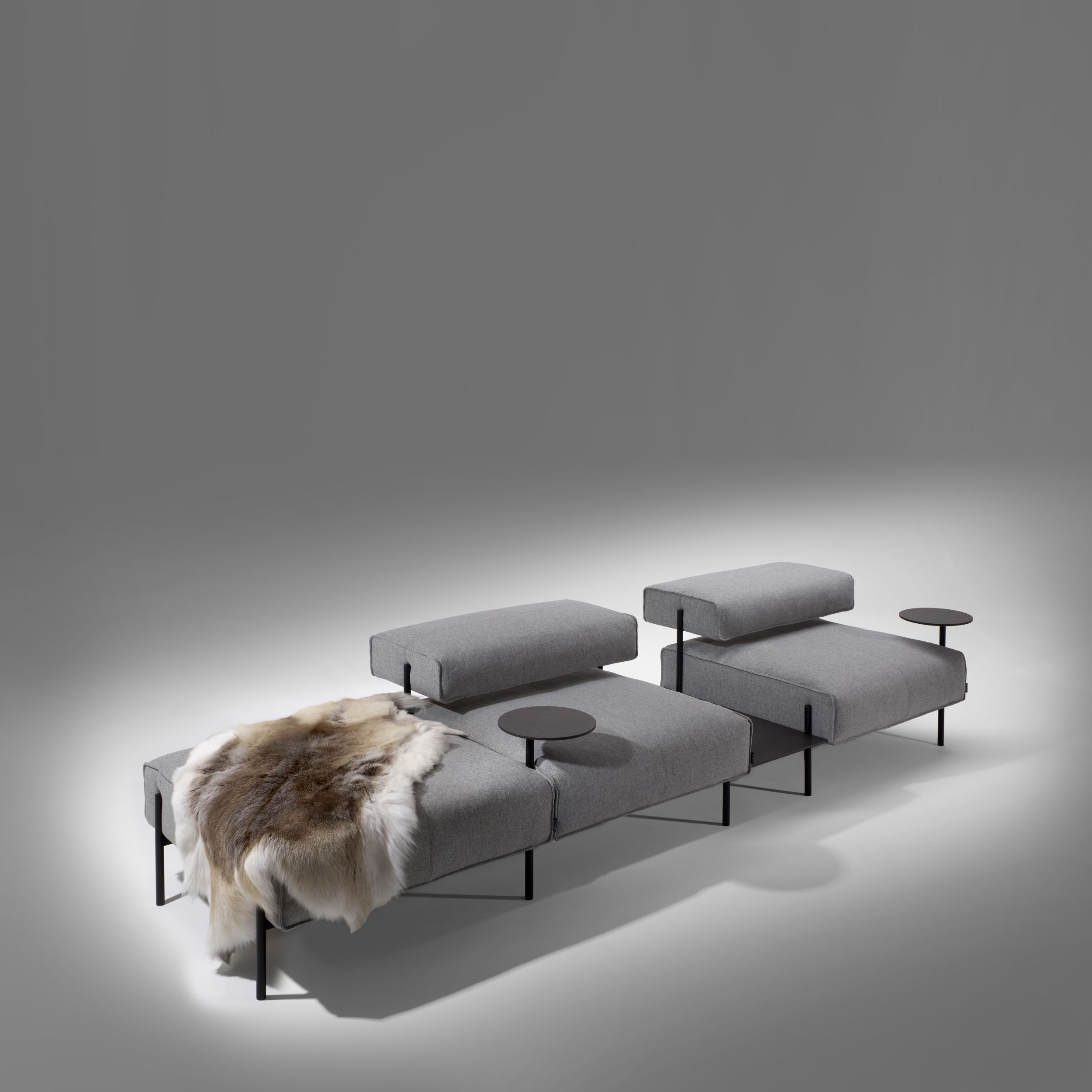 Lucy, H37/h73 | Offecct In Lucy Grey Sofa Chairs (Image 14 of 20)