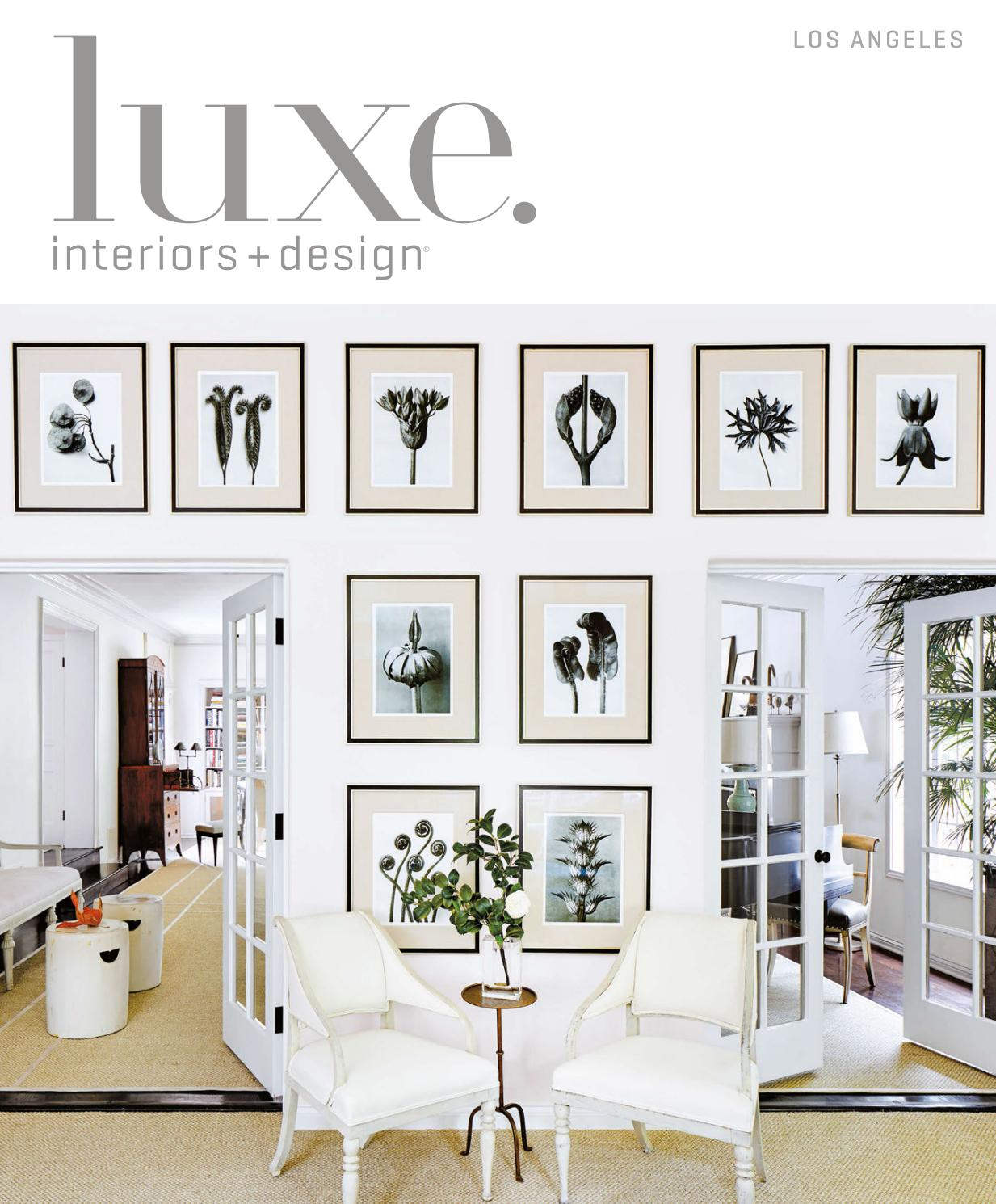Luxe Magazine March 2017 Los Angelessandow® – Issuu For Chadwick Tomato Swivel Accent Chairs (View 8 of 20)