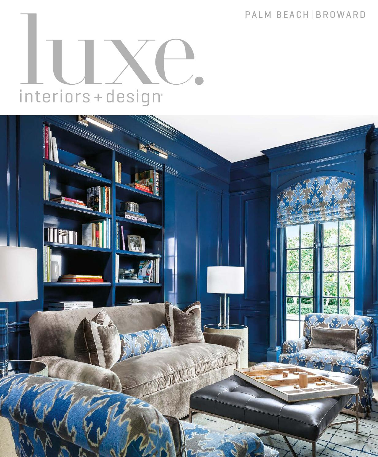 Luxe Magazine November 2015 Palm Beachsandow® – Issuu Throughout Chadwick Tomato Swivel Accent Chairs (View 12 of 20)