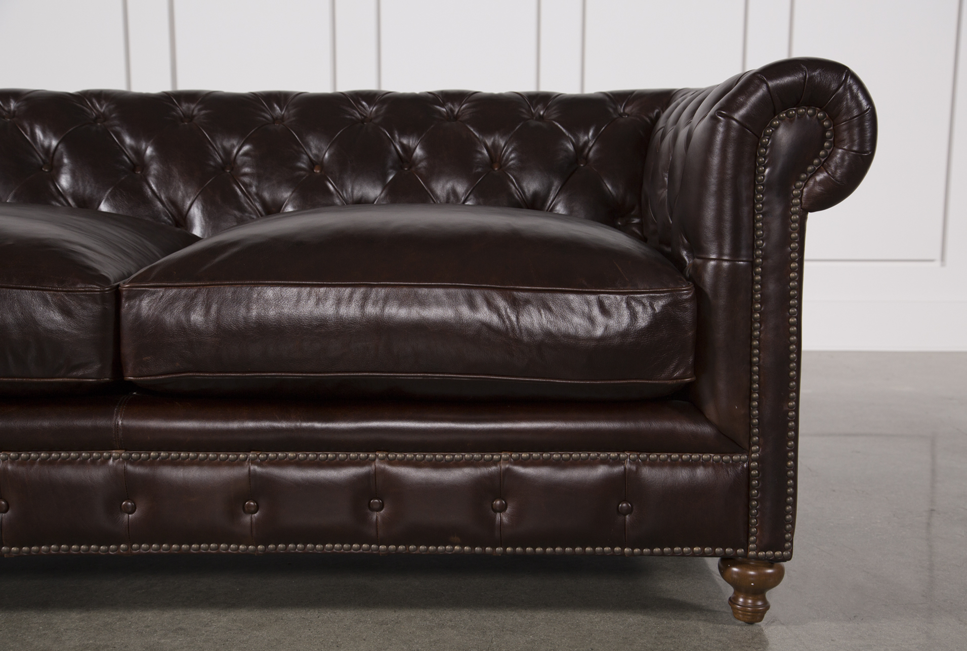 Mansfield 86 Inch Cocoa Leather Sofa In 2018 | Products | Pinterest Throughout Mansfield Cocoa Leather Sofa Chairs (Photo 2 of 20)