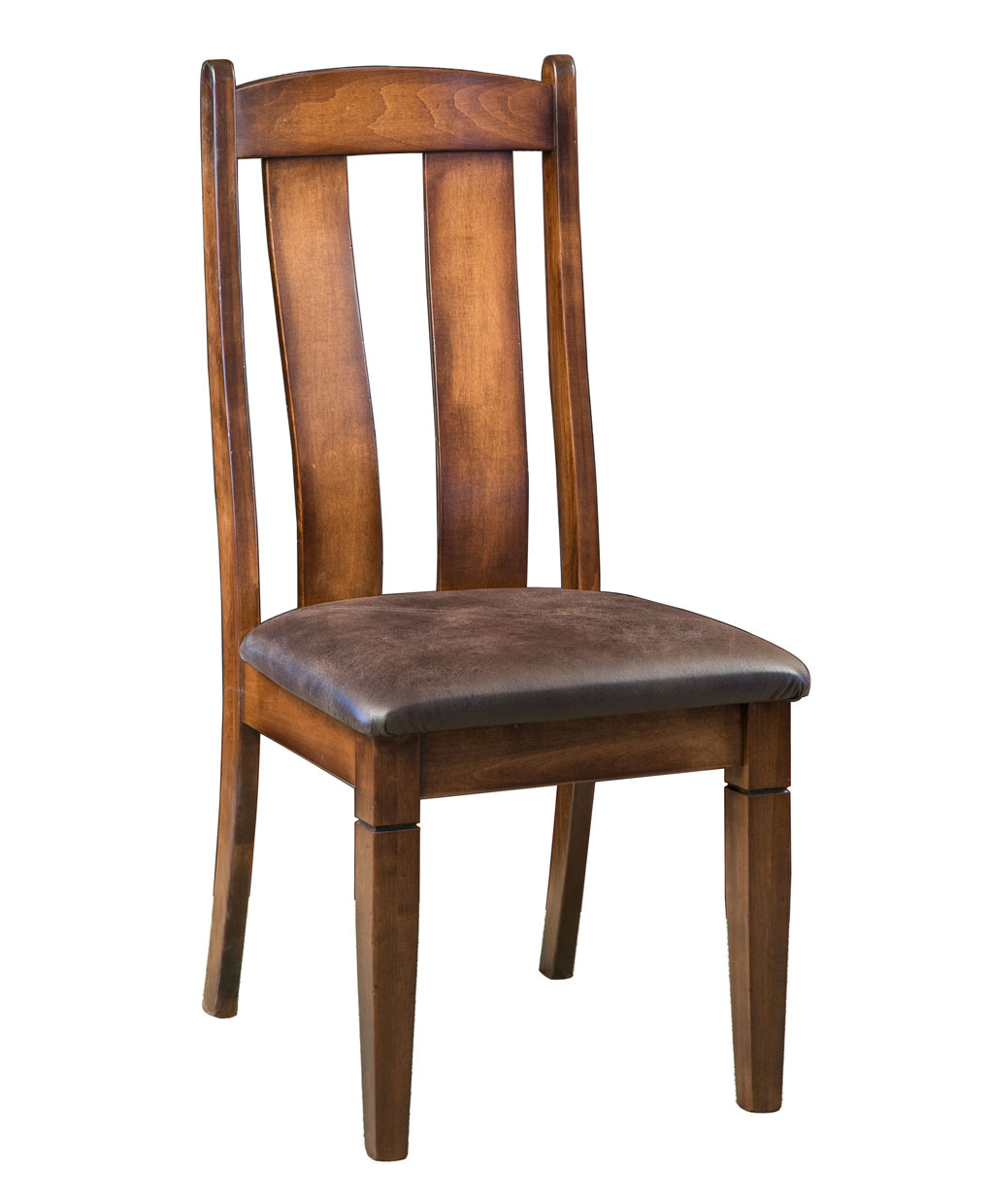 Mansfield Dining Chair – Amish Direct Furniture Throughout Mansfield Cocoa Leather Sofa Chairs (Photo 12 of 20)