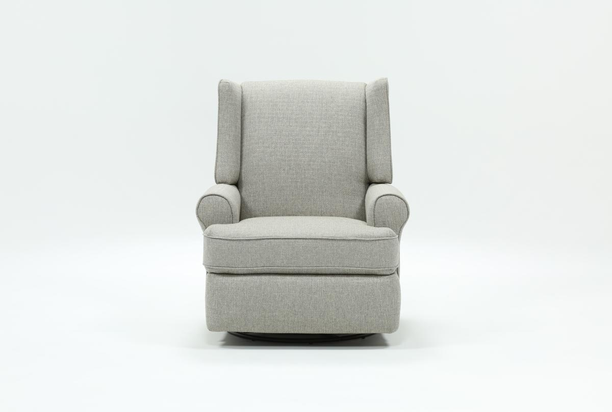 Mari Swivel Glider Recliner | Living Spaces For Mari Swivel Glider Recliners (Photo 1 of 20)