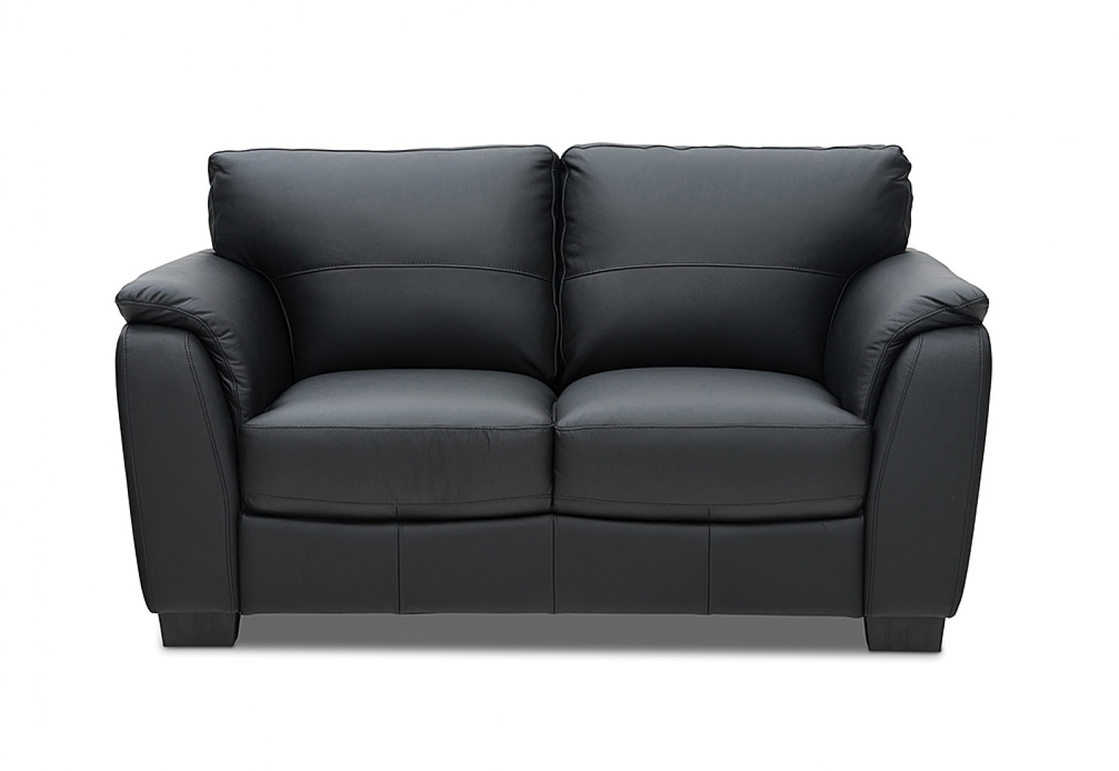 Marissa Leather 2 Seater Sofa | Amart Furniture In Marissa Sofa Chairs (Photo 3 of 20)