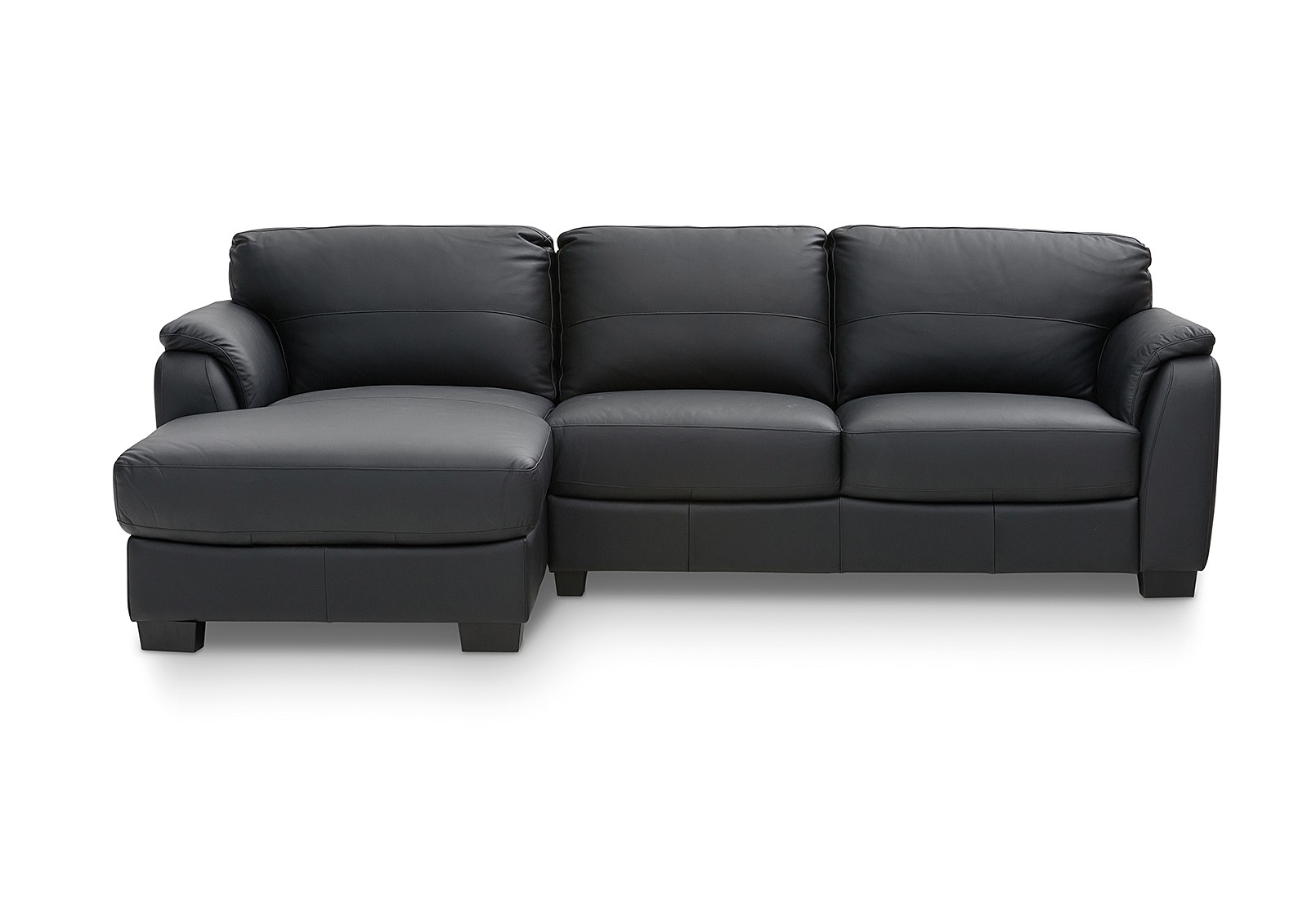 Marissa Leather 3 Seater Chaise | Amart Furniture Inside Marissa Sofa Chairs (Image 8 of 20)