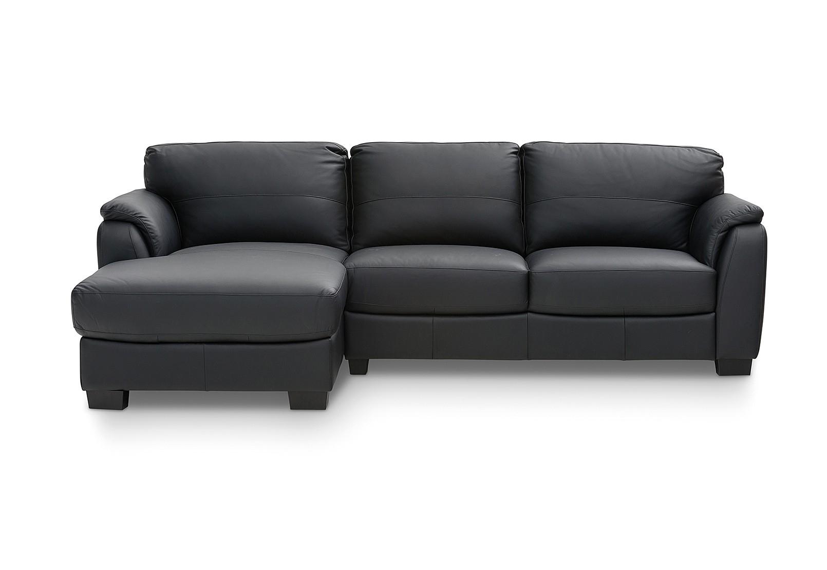 Marissa Leather 3 Seater Chaise | Amart Furniture Inside Marissa Sofa Chairs (Photo 7 of 20)