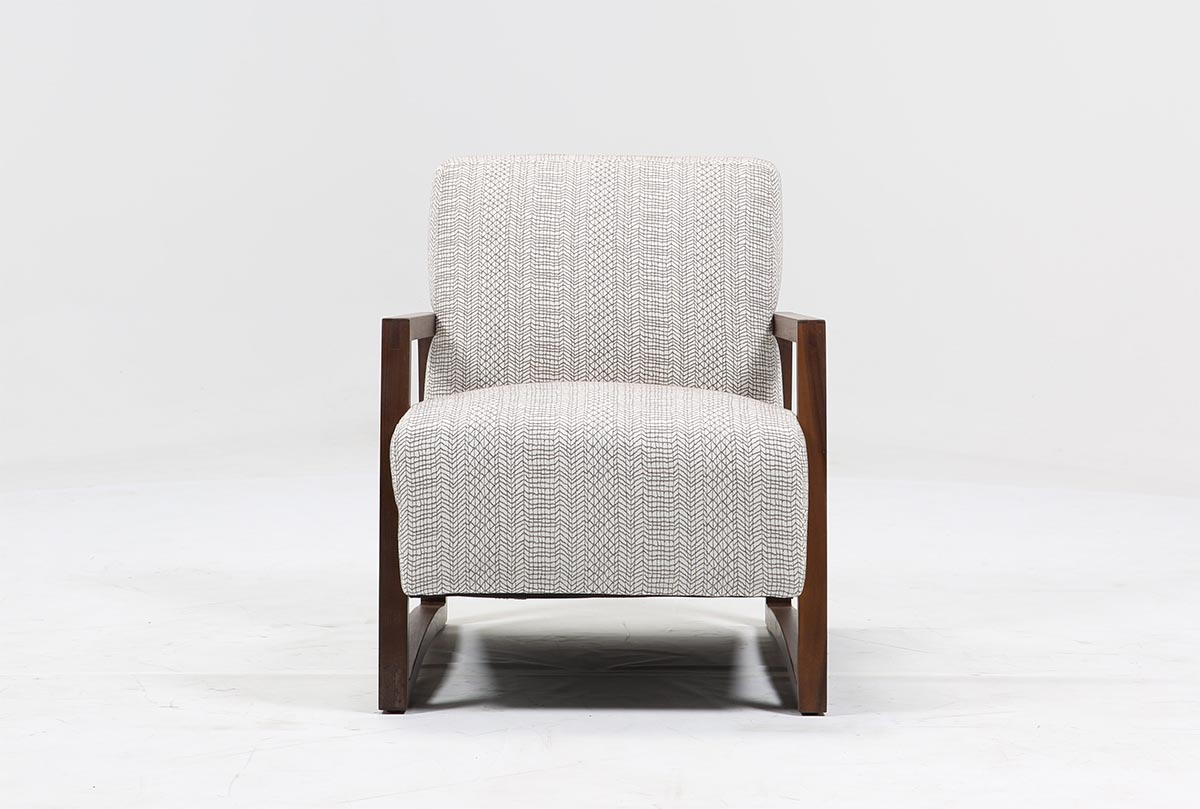 Marshall Accent Chair | Living Spaces Throughout Loft Smokey Swivel Accent Chairs (Image 13 of 20)