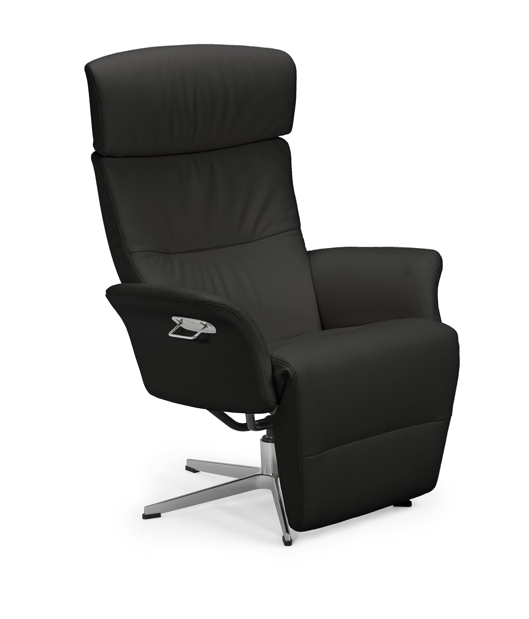 Master Crossfoot Swivel Chair | Tr Hayes – Furniture Store, Bath With Leather Black Swivel Chairs (Image 10 of 20)