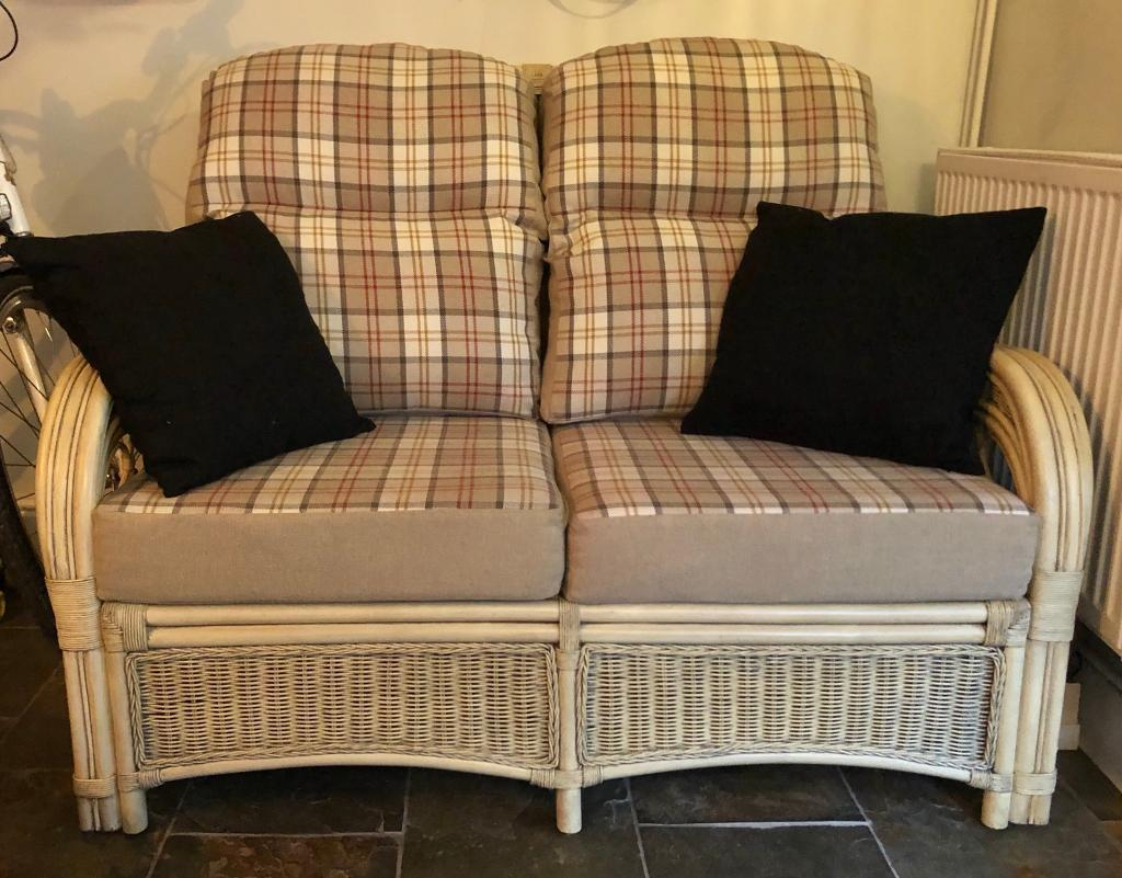 Matching Cane Sofa And Arm Chair | In Exmouth, Devon | Gumtree Within Devon Ii Arm Sofa Chairs (Photo 18 of 20)