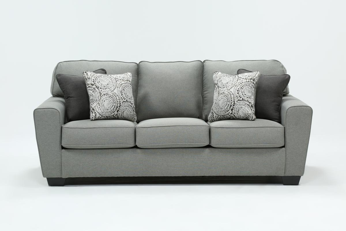 Mcdade Ash Sofa | Living Spaces Regarding Mcdade Ash Sofa Chairs (Photo 1 of 20)
