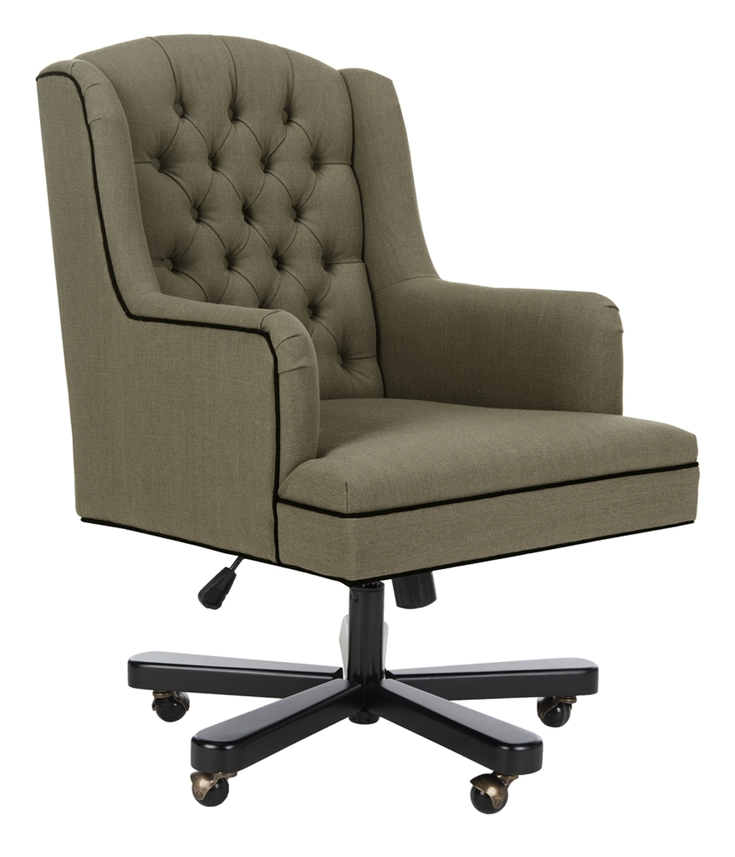 Mcr4211A Desk Chairs – Furnituresafavieh Within Nichol Swivel Accent Chairs (Image 12 of 20)