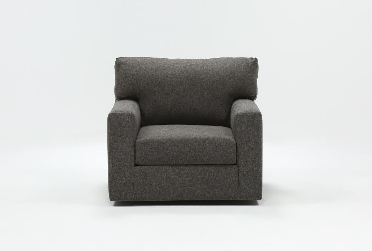 Mercer Foam Swivel Chair For Amala Bone Leather Reclining Swivel Chairs (Image 12 of 20)