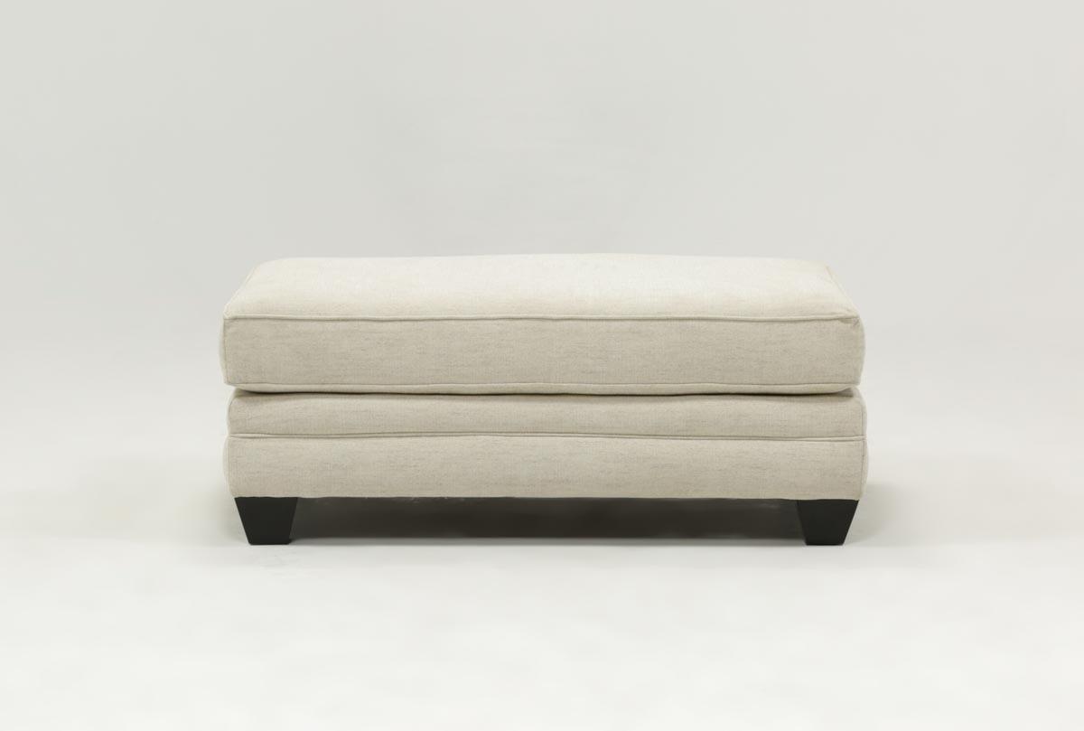 Mesa Foam Ottoman | Living Spaces Regarding Mesa Foam Oversized Sofa Chairs (Image 12 of 20)