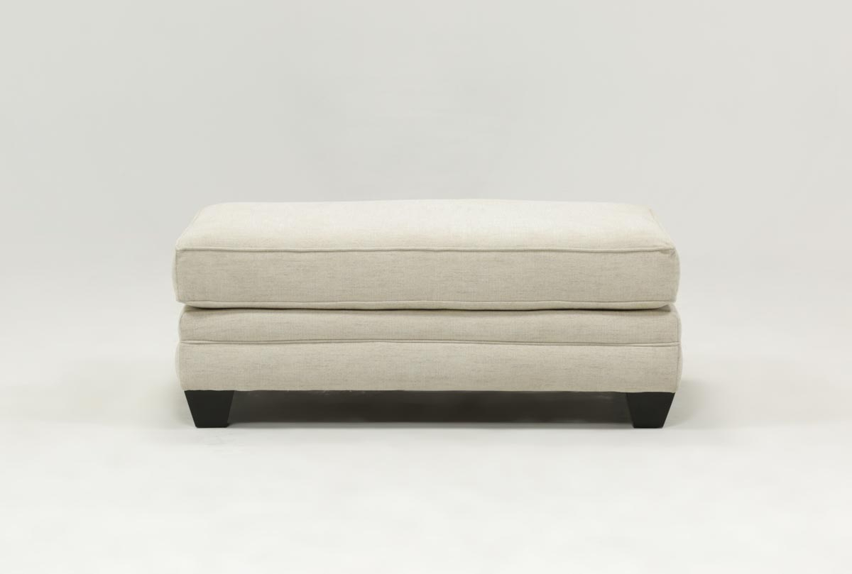 Mesa Foam Ottoman | Living Spaces Throughout Cohen Foam Oversized Sofa Chairs (View 11 of 20)
