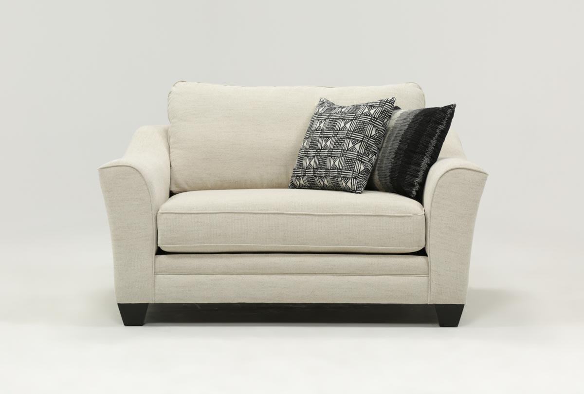 Mesa Foam Oversized Chair | Living Spaces Inside Mercer Foam Oversized Sofa Chairs (Image 12 of 20)