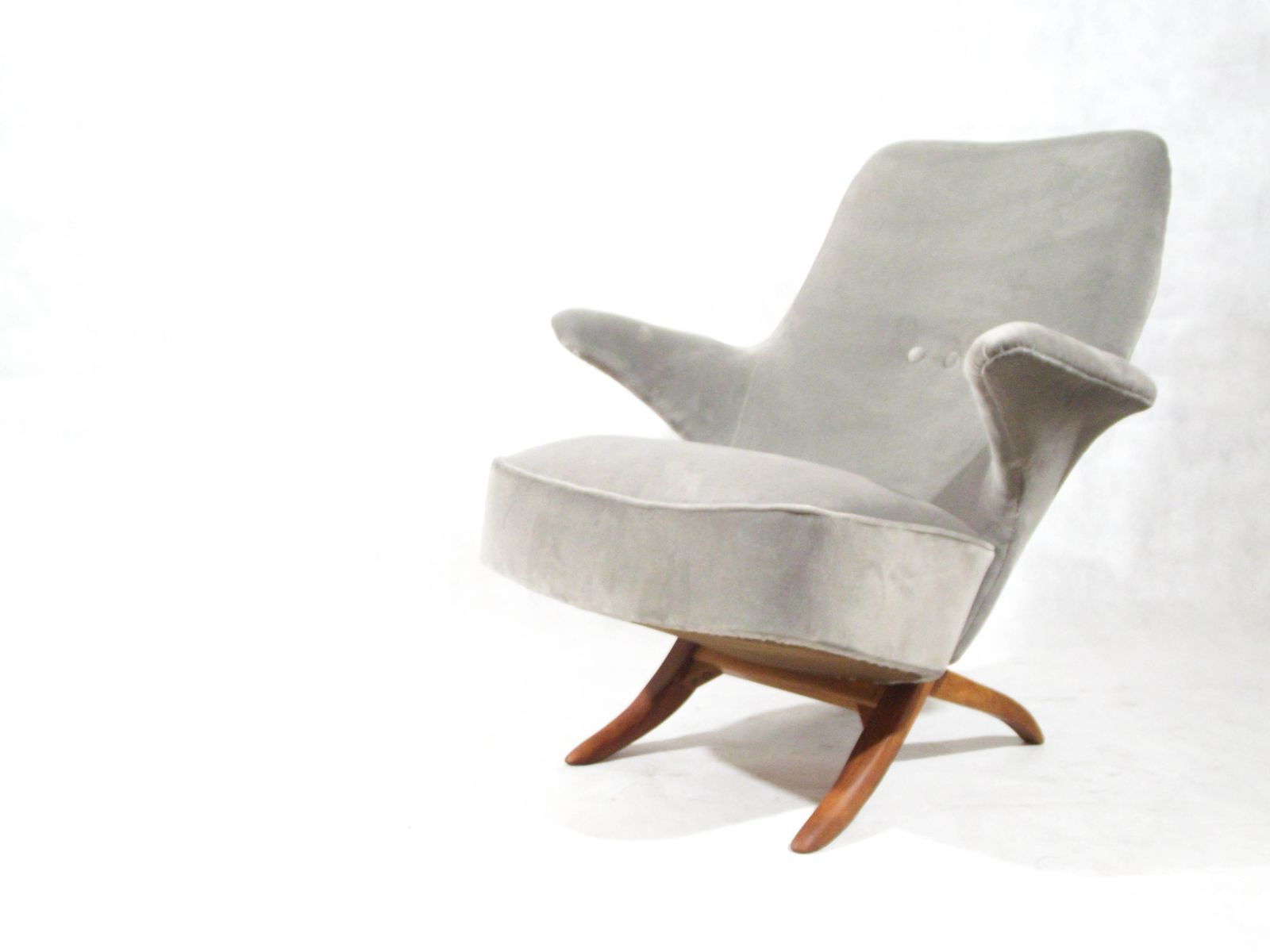 Mid Century Penguin Lounge Chairtheo Ruth For Artifort For Sale Inside Theo Ii Swivel Chairs (Image 9 of 20)