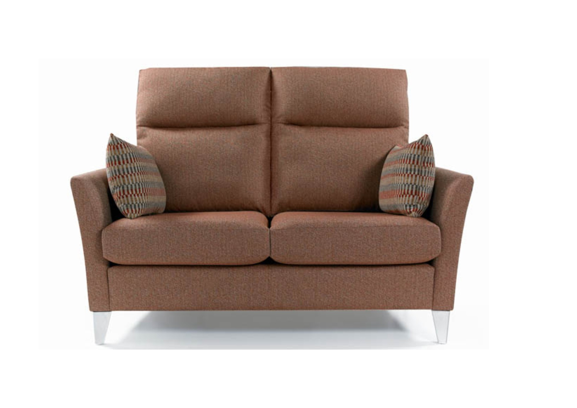 Milo 2 Seater High Back Sofa Contemporary Styling With Luxurious Comfort Regarding Milo Sofa Chairs (Photo 11 of 20)
