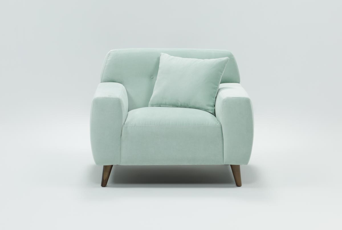 Mitchell Arm Chair | Living Spaces With Mitchell Arm Sofa Chairs (Image 12 of 20)