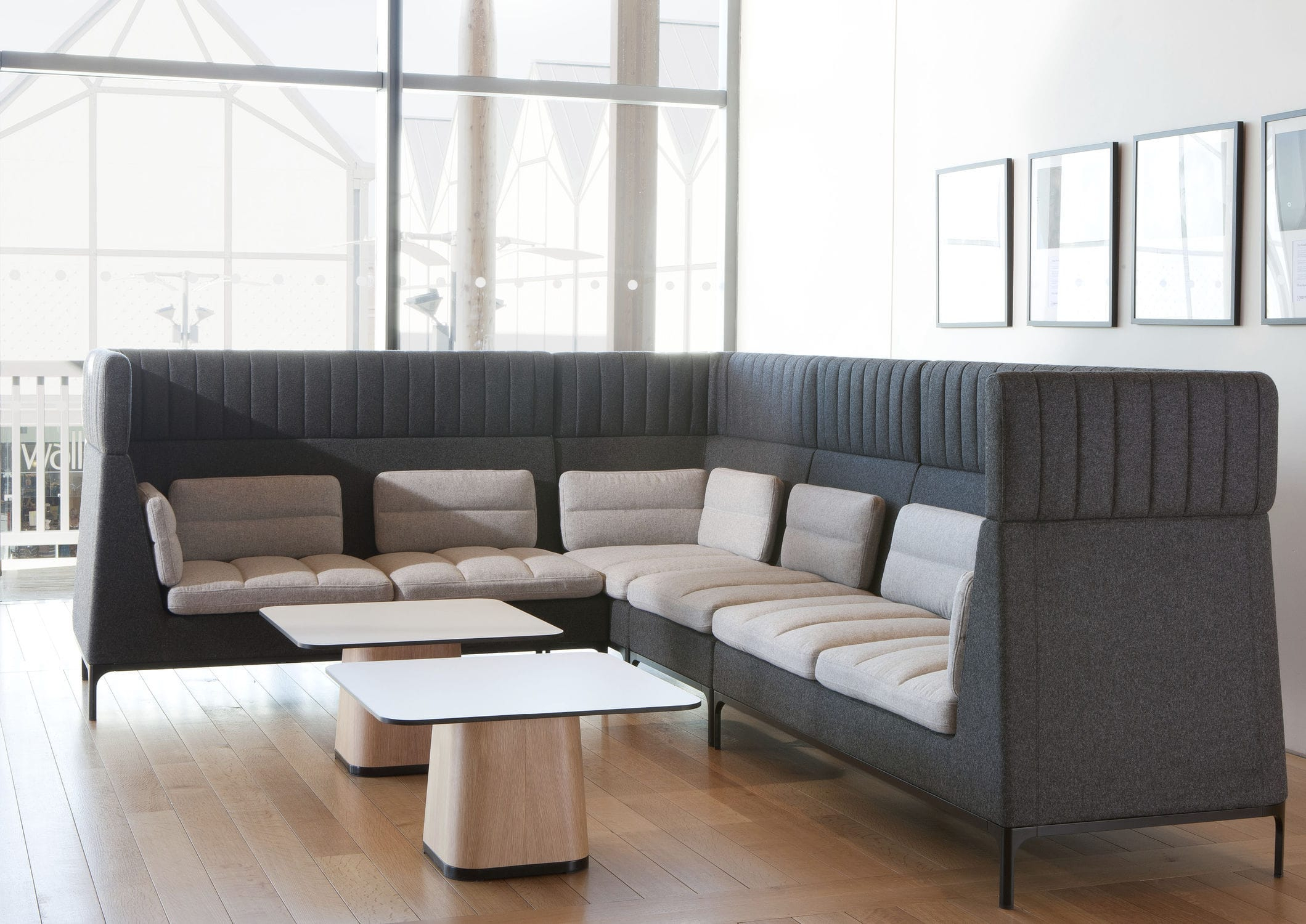Modular Sofa / Contemporary / Aluminum / Fabric – Havenmark Pertaining To Haven Sofa Chairs (View 6 of 20)