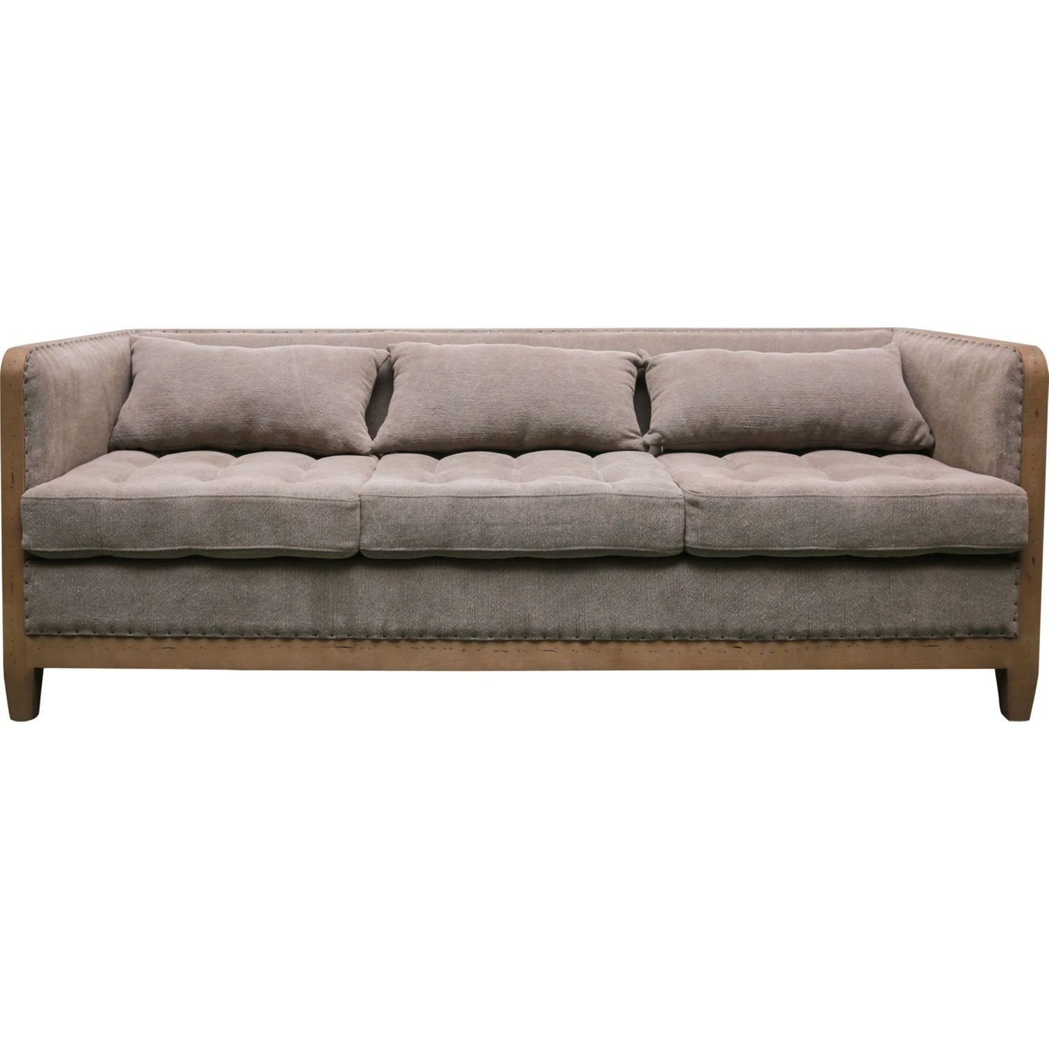 Moe's Home Collection Sx 1015 25 Cosette Sofa In Grey | Pinterest Intended For Cosette Leather Sofa Chairs (View 5 of 20)