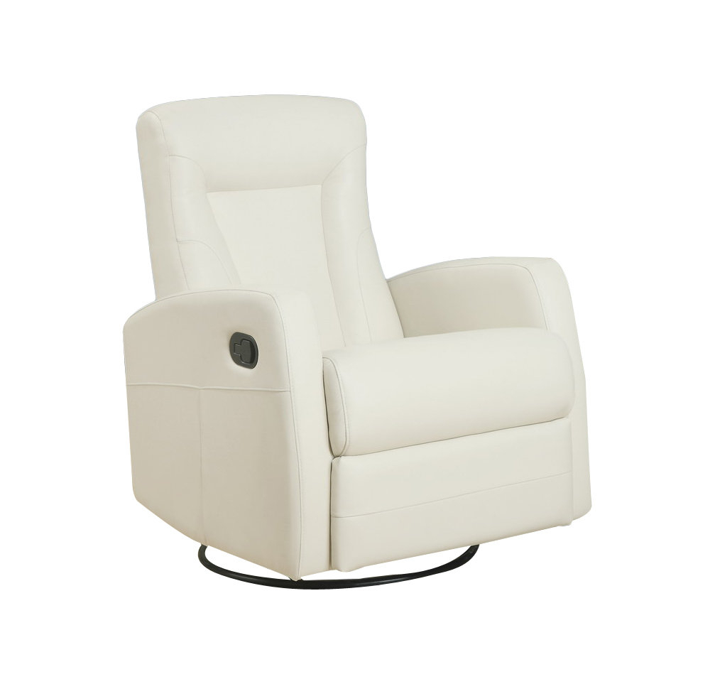 Monarch Specialties Inc. Manual Rocker Recliner & Reviews | Wayfair Intended For Katrina Beige Swivel Glider Chairs (Photo 5 of 20)