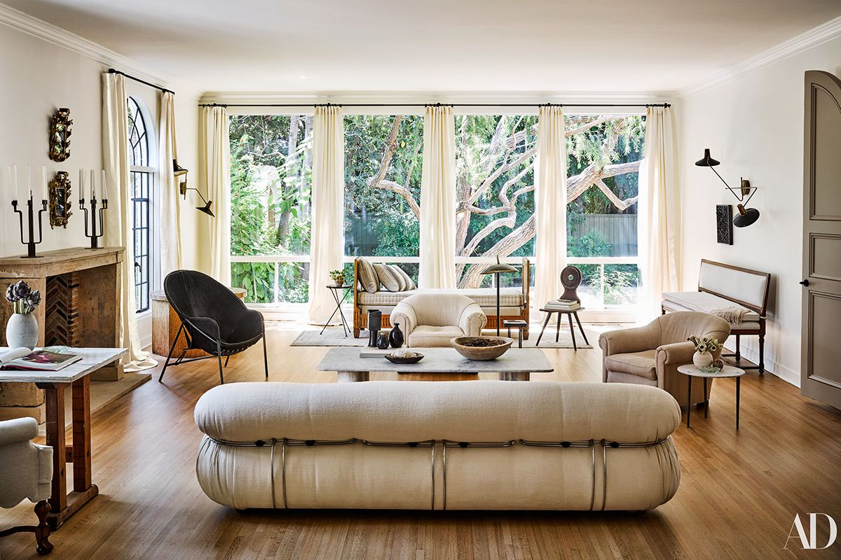 Nate Berkus Interiors Nate Berkus Jeremiah Brent Los Angeles Home Intended For Matteo Arm Sofa Chairs By Nate Berkus And Jeremiah Brent (Photo 15 of 20)