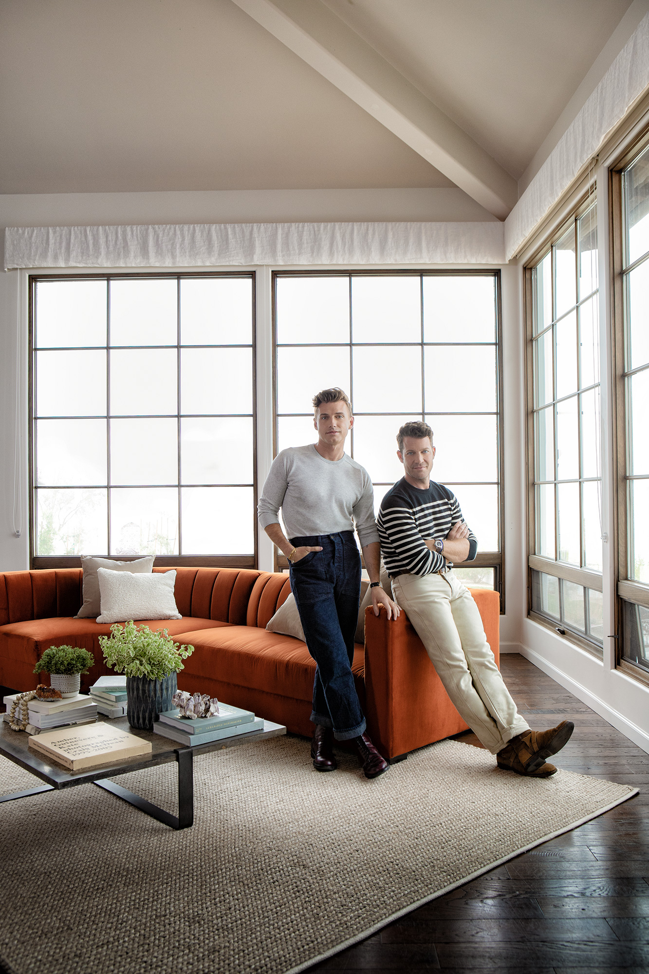Nate Berkus, Jeremiah Brent For Living Spaces Furniture | People Throughout Gwen Sofa Chairs By Nate Berkus And Jeremiah Brent (Image 12 of 20)
