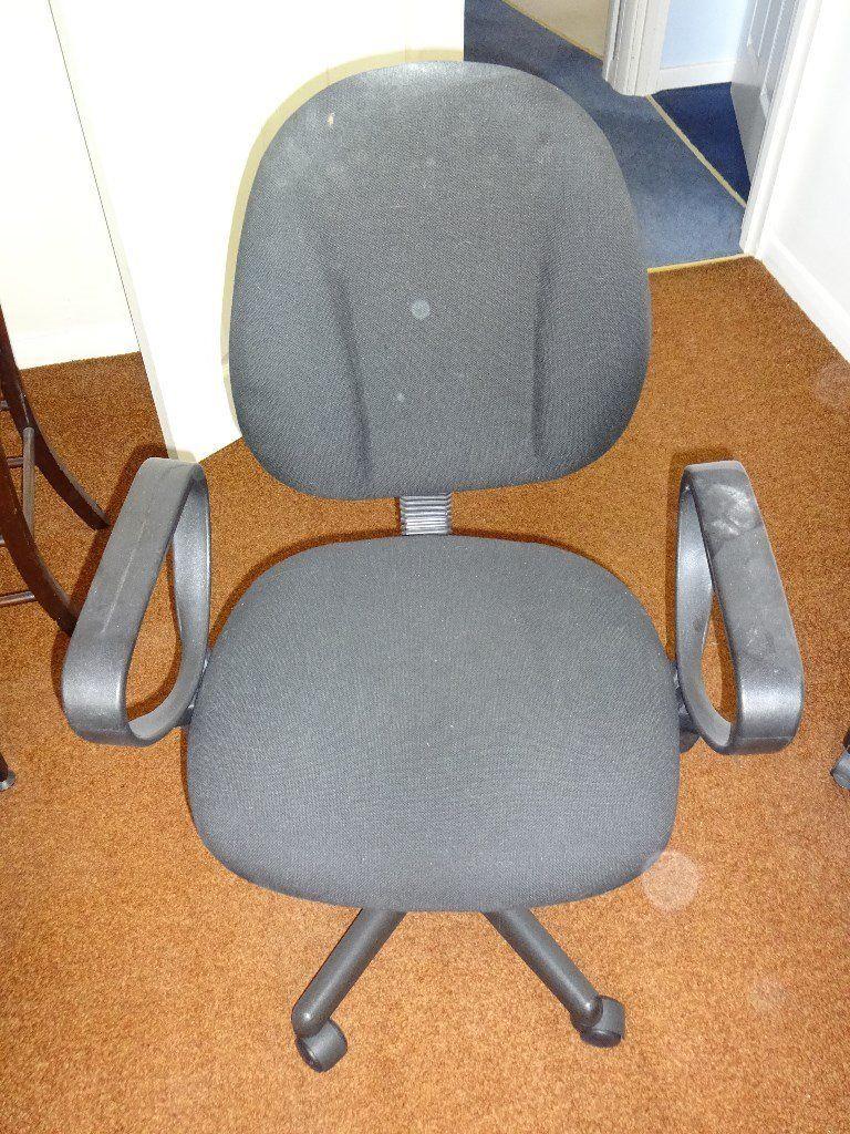 Office Swivel Chair Dark Grey | In Tilehurst, Berkshire | Gumtree In Dark Grey Swivel Chairs (Image 17 of 20)