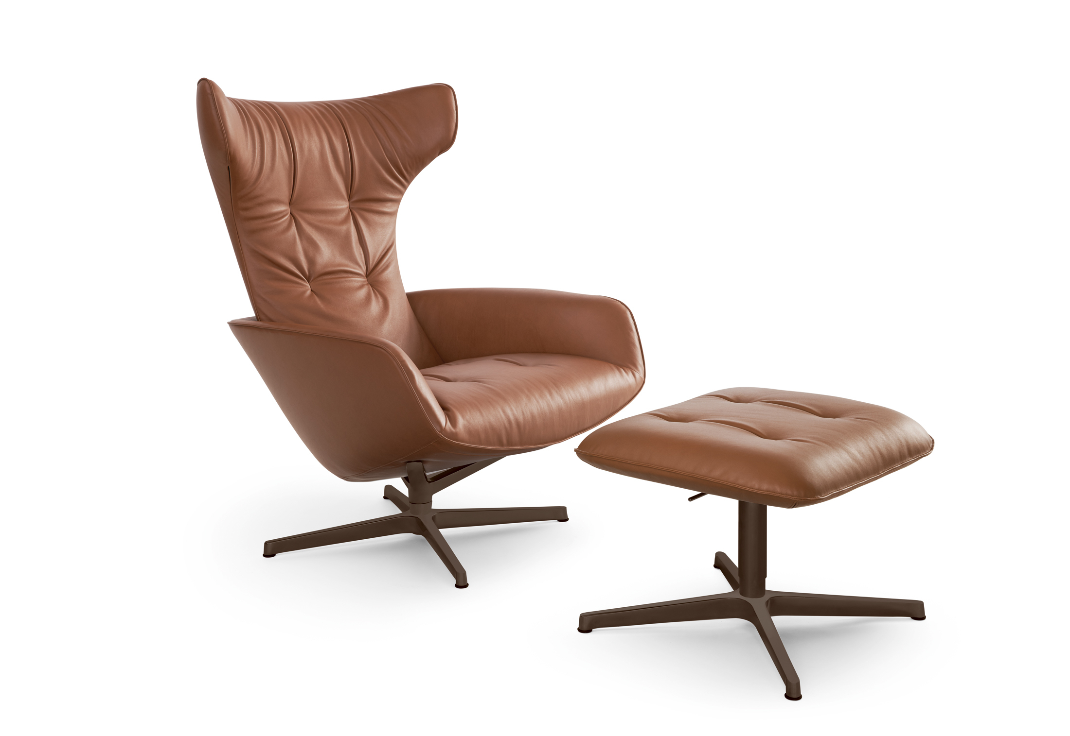 Onsa Chairwalter Knoll | Stylepark With Regard To Walter Leather Sofa Chairs (Image 7 of 20)