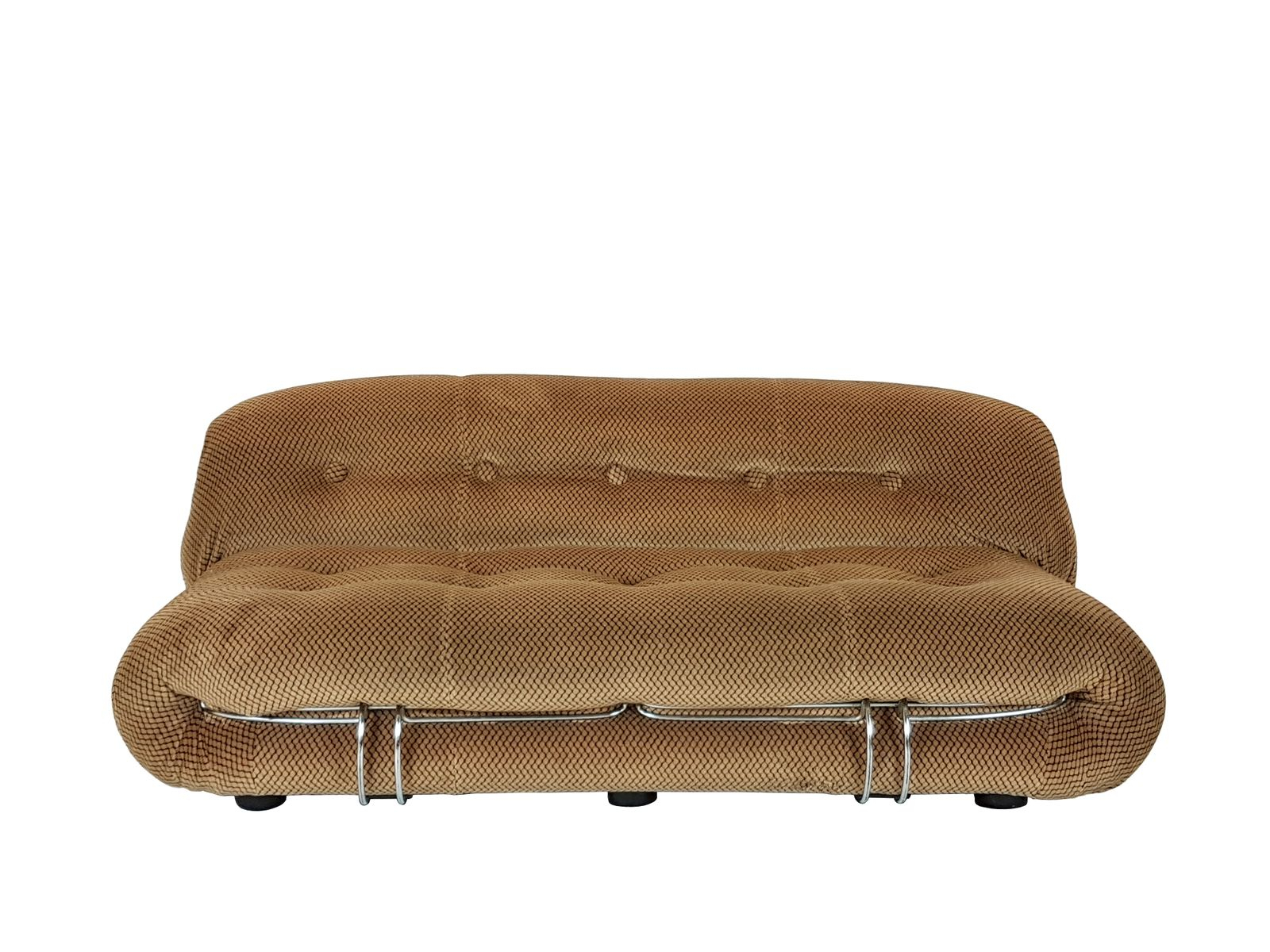 Optical Model Soriana Velvet Sofaafra & Tobia Scarpa For Cassina For London Optical Sofa Chairs (Image 16 of 20)