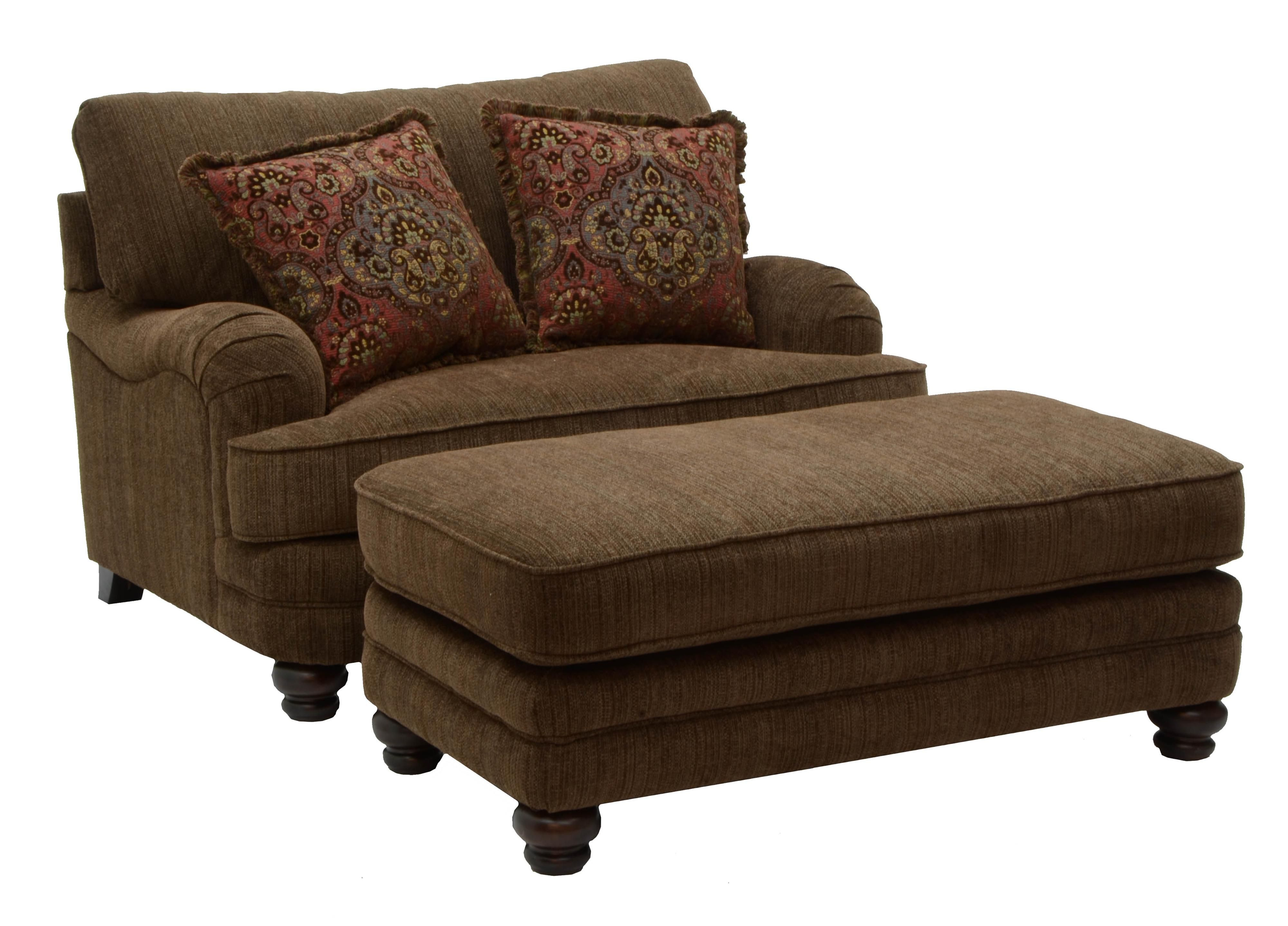 Over Size Stuft Chairs | Brennan Large Chair And A Half For Formal Regarding Brennan Sofa Chairs (Image 19 of 20)