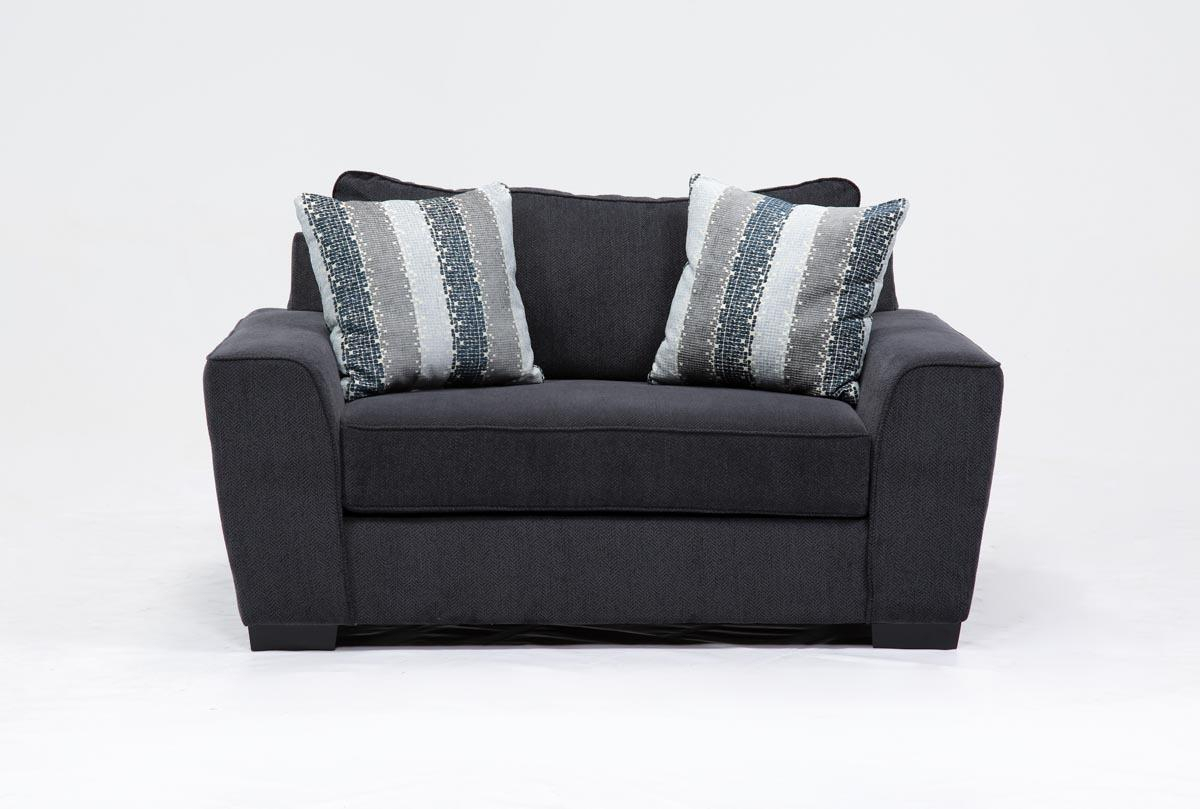 Parker Chair | Living Spaces Regarding Sheldon Oversized Sofa Chairs (Image 8 of 20)