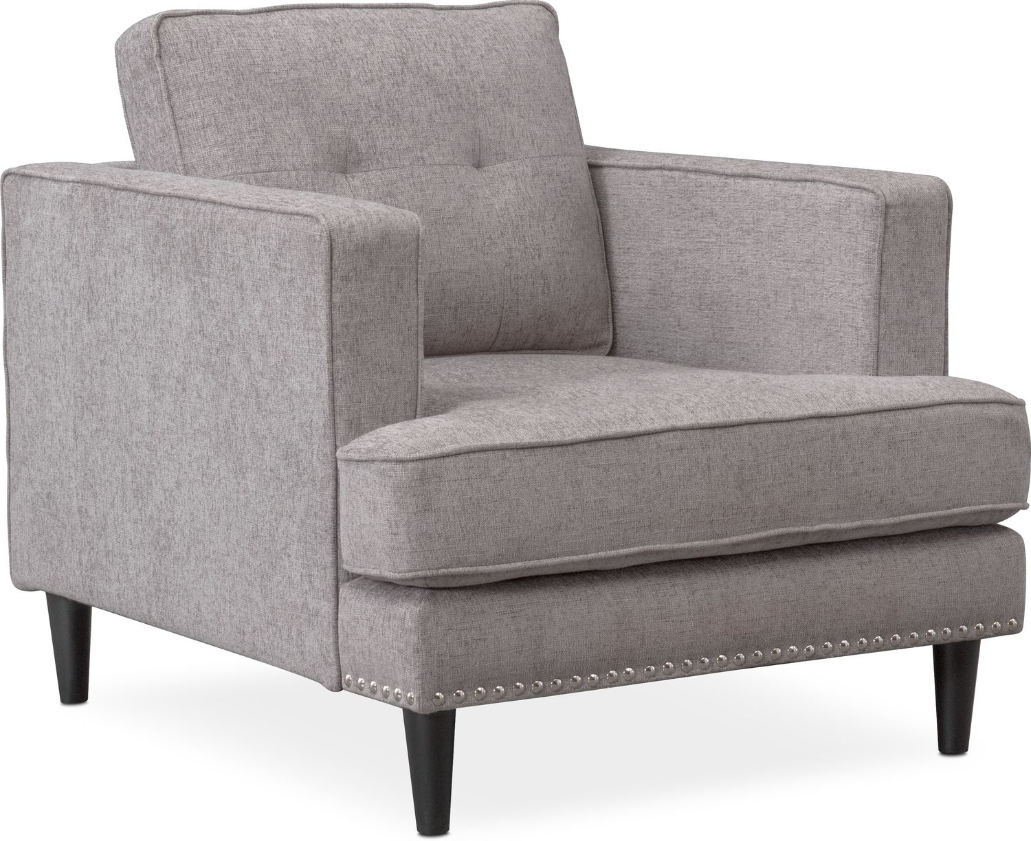 Parker Sofa, Chair And Ottoman Set | Value City Furniture And Mattresses For Rory Sofa Chairs (Image 7 of 20)