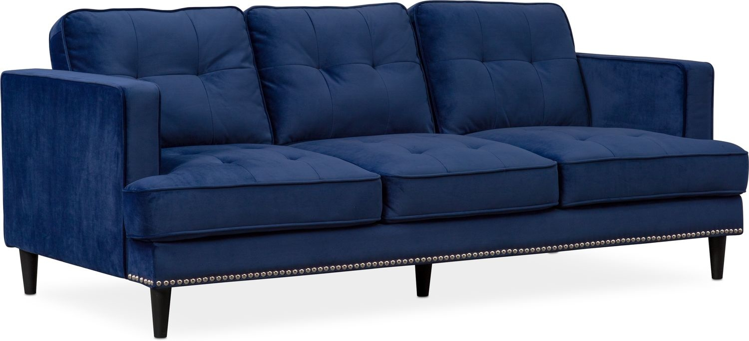 Parker Sofa, Chair And Ottoman Set | Value City Furniture And Mattresses Throughout Parker Sofa Chairs (Image 19 of 20)