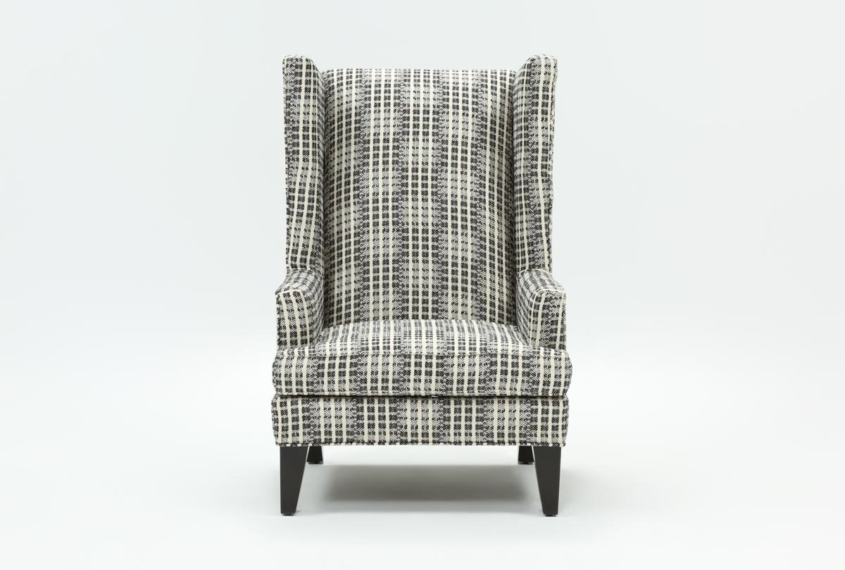 Patterson Accent Chair | Living Spaces For Patterson Ii Arm Sofa Chairs (Image 11 of 20)