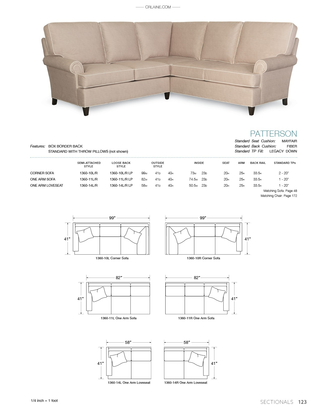 Patterson – Products Inside Patterson Ii Arm Sofa Chairs (Image 9 of 20)