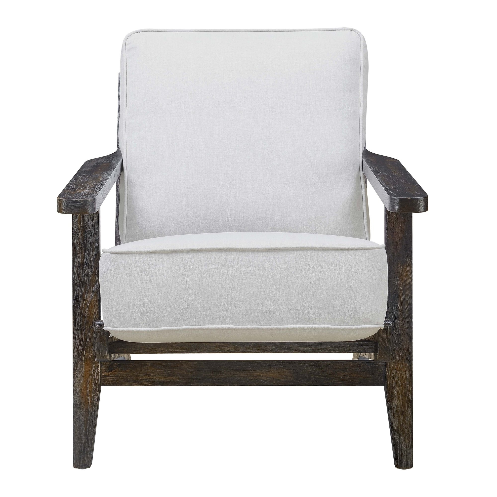 Picket House Furnishings Mercer Accent Chair In Onyx W/ Espresso For Mercer Foam Swivel Chairs (View 10 of 20)