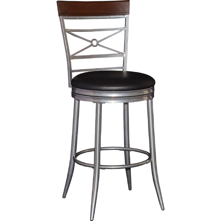Powell Furniture Rory Black Big And Tall Counter Stool | The Classy Home With Regard To Rory Sofa Chairs (Image 8 of 20)